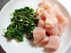 160417ニリンソウと鶏肉マヨ01