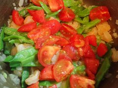 160719ササゲと海老のトマト煮15